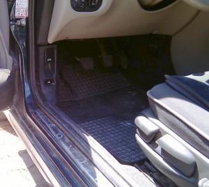rover 75 abitacolo pedali