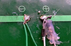 due diodi sul pannello solare